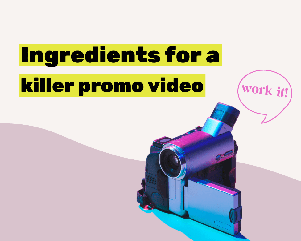 how to make a promo video
